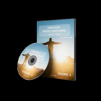 DVD – Volume 02 – PARCOURS PRIÈRE CHRÉTIENNE de Carolina Costa